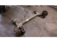 FORD FUSION FIESTA 1.4TDCI REAR AXLE + DRUM BRAKE LEFT AND RIGHT 2004 LTN £90