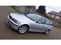 2002 (02) BMW 3 SERIES E46 318i SE 2.0L PETROL MANUAL 5DR ESTATE MOT DEC 17 HPI CLEAR SUPERB DRIVE