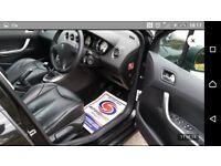 Peugeot 308 hdi FULL BLACK LEATHER HEATED SEATS