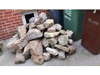Decorative Garden Rocks - Rockery, Edges, Borders, Wall, Beds - £1 to £3 each