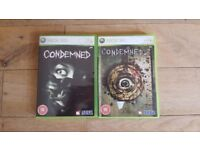 Condemned + Condemned 2 - Xbox 360 - Games