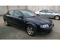 AUDI A4 2003 1.9TDI VERY GOOD CONDITION 1 YEAR MOT LOW MILES