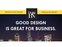 Freelance Graphic and Web Designer - West London