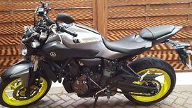 2017 Yamaha MT-07 689cc