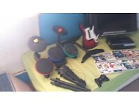 ps3 / drums guitar games
