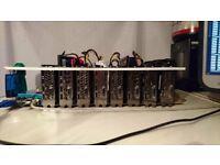 Mining Rig - 2100 sol/s ZEC / 163 Mh/s Eth 7 x 1060 3GB