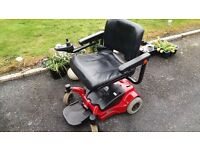 wheelchair electric go chair fits in can boot 0-4 mph
