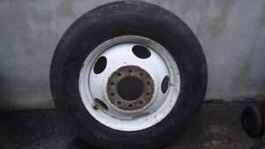 1 8R195 Michelin Tire With 10 Studs Dually GM Rim
