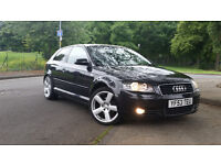 Audi A3 2.0 TDI Sport 3 dr 6 Speed manual 140 bhp Excellent Condition price 2800 ono