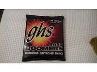 GHS Bass Boomers H3045 - 4-String Bass Strings - 50-115 Heavy - Long Scale