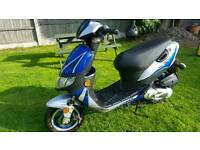 Keeway 50cc. Runs but needs work. Please read the notes. Can deliver