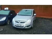 2011 Vauxhall Zafira Design 1.7 cdti spares or repair non runner damaged salvage