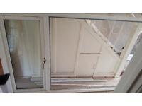 White PVC Double Glazed Window Unit