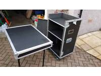 Wheeled Flight Case for PA system or DJ
