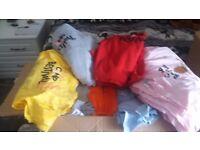 New Hoodies/T-Shirts Joblot 100+ Size 5/6