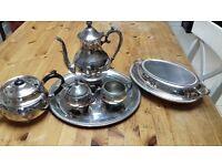 FB Rogers 1883 Coffee/tea set