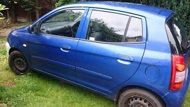 KIA PICANTO WING DRIVER FRONT BLUE T3