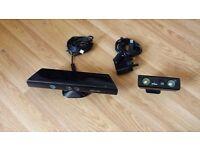 Microsoft XBOX 360 Kinect (1414) W/ AC Adapter (1429) & NYKO Zoom (86085-A50)