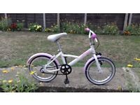 KIDS GIRLS CHILDREN BTWIN PRINCESS 16 INCH WHEELS AGES 3-7 BIKE BICYCLE