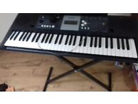 Yamaha ypt-230 keyboard +stand *reduced *