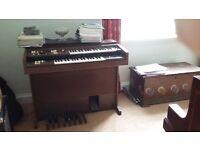 Yamaha Electone Organ, Model A-55N, Serial No. 1964
