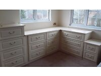 FREE OFFER. Fitted bedroom drawer units. Excellent condition. Whole lot or in units