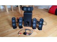 Logitech X-530 5.1 surround sound speakers