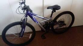 Childs apollo fs24 mountain bike