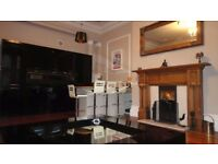 large two bedroom west end main door apartment