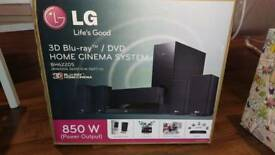 LG Blu-ray 3D home cinema system