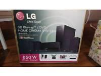 LG Blu-ray 3D home cinema system