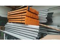 Pallet Racking Shelves, Beams Available
