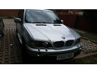 BMW X5 D Sport Automatic 2002 3.0 Diesel 151000 Miles, Excellent Drive, Nothing Mechanically wrong