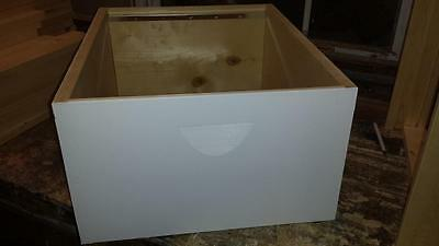 """Deep Hive Body 9 5/8"""" Hive Body Bee Box ASSEMBLED/PAINTED"""