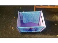 DISNEY FROZEN CANVAS STORAGE BOX