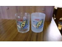 Two Small Rhodes Glasses
