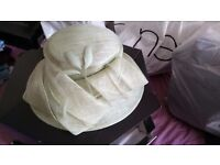 Jaques vert mother of the bride outfit hat bag shoes