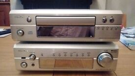 Denon DRA F101 Stereo Receiver and CD player
