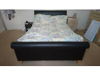 Double bed frame, frame only