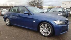 BMW 2.0 320D M SPORT 6 SPEED FULL LEATHER 2006 / FULL SERVICE HISTORY / PRIVATE REG WITH CAR 2 KEYS