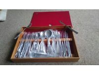 Spear and Jackson Crystal cutlery set 50pcs