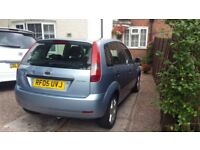 ford fiesta 1.6 zetec starts and drives
