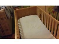 Cot bed for sale used