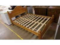 Excellent Condition Solid Pine Quality Double Bed,Can Deliver
