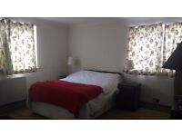New furbished triple size bedroom with balcony, dinning table and fridge