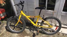 Boys mountain bike gears