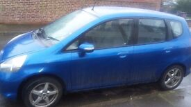 Honda jazz 1.4 blue. Excellent condition