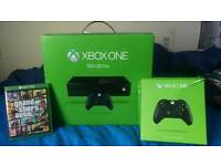 Xbox One 500gb w/ 2 Controllers and GTA V