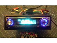 Cd player kenwood animation usb aux in