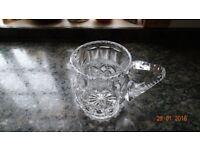 Vintage Cut Glass Water Jug